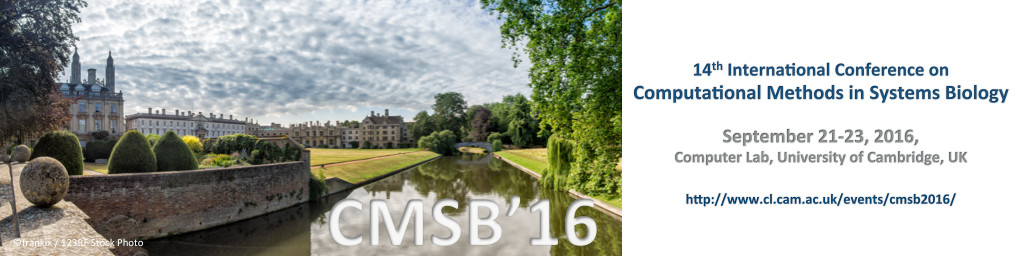14th International Conference on Computational Methods in Systems Biology,